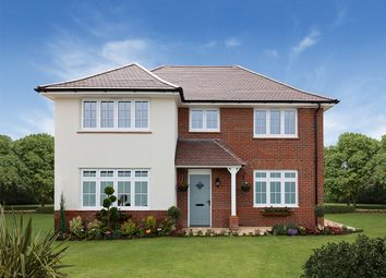 "Thumbnail 4 bed detached house for sale in ""Shaftesbury"" at Cot Hill, Llanwern, Newport"