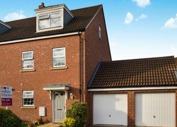 Thumbnail 4 bed semi-detached house for sale in Kent Drive, Watlington, King's Lynn