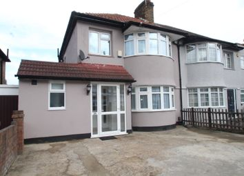Thumbnail 4 bed semi-detached house to rent in Okehampton Crescent, Welling