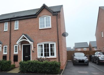 Thumbnail 3 bed semi-detached house for sale in Stoneyford Road, Overseal, Swadlincote