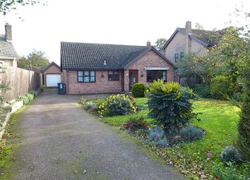 Thumbnail 3 bed detached bungalow for sale in Marlborough Close, Yaxley, Peterborough