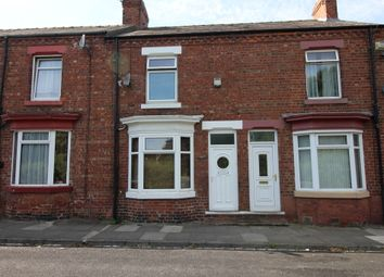 Thumbnail 3 bed terraced house to rent in Drury Street, Darlington, County Durham