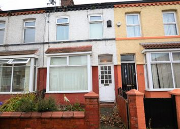 Thumbnail 3 bed terraced house to rent in Woodhey Road, Aigburth, Liverpool
