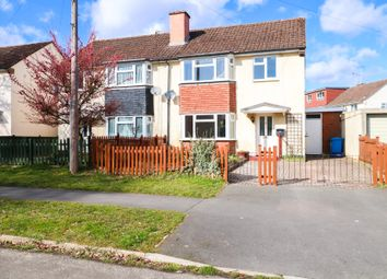 Thumbnail 3 bed semi-detached house to rent in Twelve Acre Crescent, Farnborough
