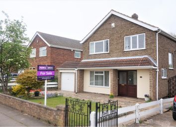 Thumbnail 3 bed detached house for sale in Anderby Drive, Grimsby