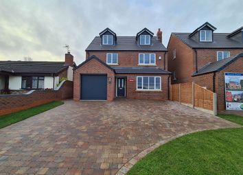 Thumbnail 5 bed detached house for sale in Burnt Gate House, Hopley Road, Anslow, Burton-On-Trent