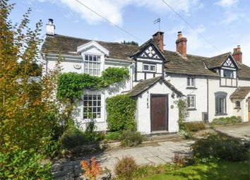 Thumbnail 3 bed terraced house for sale in Holmes Chapel Road, Chelford, Macclesfield, Cheshire