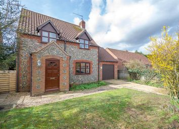 Thumbnail 3 bed detached house for sale in Reepham Road, Briston, Melton Constable