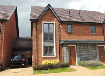 Thumbnail 3 bed property for sale in Wymondham Close, Daventry