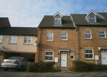 Thumbnail 4 bed town house to rent in Bennett Road, Corby