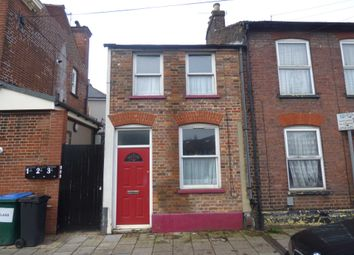 Thumbnail 3 bed end terrace house to rent in Havelock Road, Luton