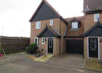 Thumbnail 3 bed link-detached house for sale in Holly Close, Dereham