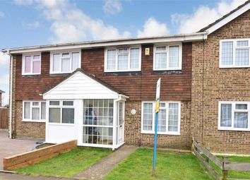 Thumbnail 3 bed terraced house for sale in Pinewood Drive, Lords Wood, Chatham, Kent