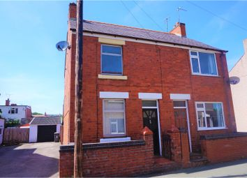 Thumbnail 2 bedroom semi-detached house for sale in Hope Street, Rhosllanerchrugog