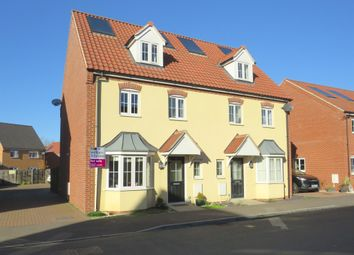 Thumbnail 4 bedroom semi-detached house for sale in Jeckyll Road, Wymondham