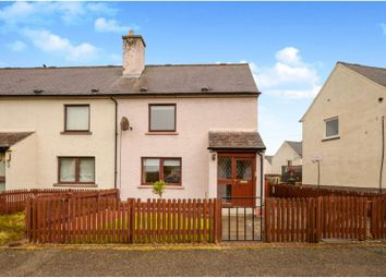 Thumbnail 2 bed end terrace house for sale in Queen Street, Invergordon