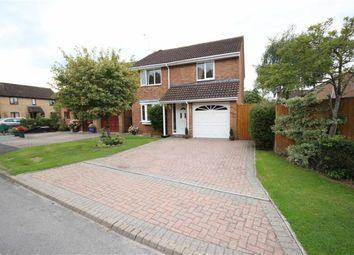 Thumbnail 4 bed detached house for sale in Lineacre Close, Grange Park, Swindon