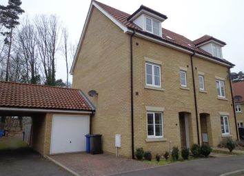 Thumbnail 4 bed semi-detached house to rent in Conifer Close, Mildenhall