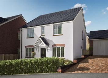 Thumbnail 4 bed detached house for sale in Willow Walk, Lea, Ross-On-Wye