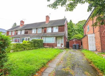 Thumbnail 2 bed end terrace house for sale in Tennal Road, Birmingham