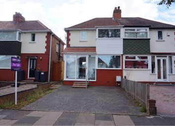 Thumbnail 2 bed semi-detached house for sale in Atlantic Road, Birmingham
