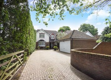 Thumbnail 4 bed detached house for sale in Finchampstead Road, Finchampstead