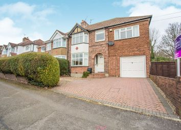 Thumbnail 5 bed semi-detached house for sale in Honeycroft Hill, Uxbridge