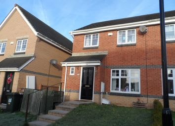 Thumbnail 3 bedroom semi-detached house for sale in Caesar Way, Wallsend