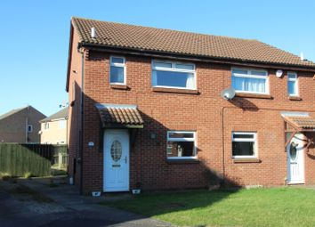 Thumbnail 3 bed semi-detached house for sale in Cranswick Close, Billingham