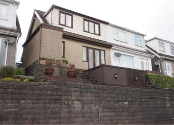 Thumbnail 3 bedroom semi-detached house for sale in Trewyddfa Road, Morriston