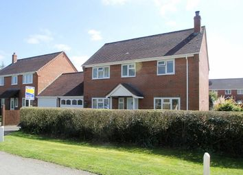 Thumbnail 3 bed detached house for sale in Wattlesborough, Shrewsbury