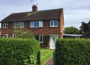 Thumbnail 2 bed semi-detached house for sale in 47 Southwell Estate, Eccleshall, Staffordshire.