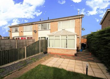 Thumbnail 2 bed end terrace house for sale in Foyle Close, Lincoln
