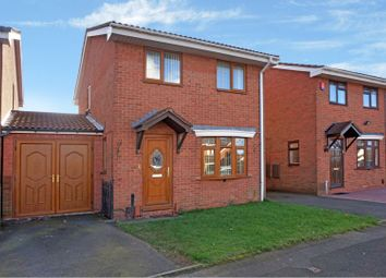 Thumbnail 4 bed detached house for sale in Sorrel Close, Oldbury
