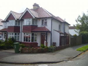 Thumbnail 4 bedroom semi-detached house to rent in Northwood Road, Carshalton