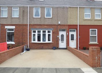 Thumbnail 3 bedroom terraced house for sale in Seaton Avenue, Blyth