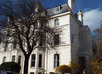 Thumbnail 2 bed flat for sale in Clifton Crescent, Folkestone, Kent, England