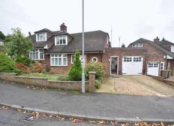 Thumbnail 2 bedroom semi-detached house for sale in Alwyn Close, Luton