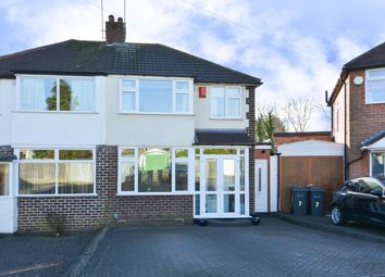 Thumbnail 3 bed semi-detached house for sale in Glynside Avenue, Quinton, Birmingham