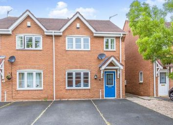 Thumbnail 3 bed semi-detached house for sale in Holm Close, Stoke On Trent, Staffs