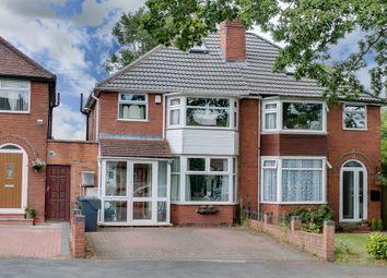 Thumbnail 4 bed semi-detached house for sale in Leach Heath Lane, Rednal, Birmingham