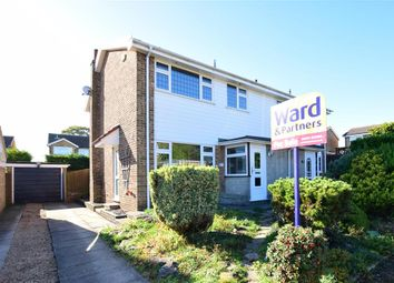Thumbnail 3 bed semi-detached house for sale in Worcester Close, Istead Rise, Kent