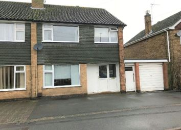 Thumbnail 3 bed semi-detached house to rent in Gwendoline Drive, Countesthorpe, Leics.