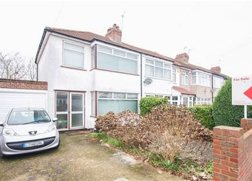 Thumbnail 3 bed end terrace house for sale in St. Pauls Avenue, Kenton, Harrow, Middlesex