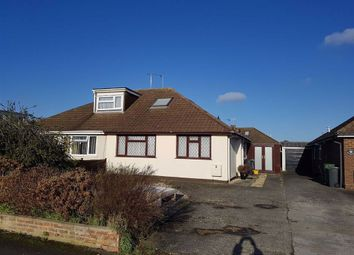 Thumbnail 2 bed semi-detached bungalow for sale in Stonehurst Close, Swindon, Wiltshire