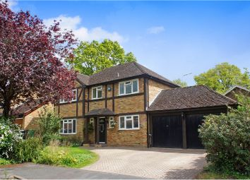 Thumbnail 4 bed detached house for sale in Henley Drive, Camberley