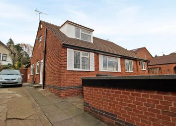 Thumbnail 4 bed semi-detached bungalow for sale in Fraser Road, Carlton, Nottingham