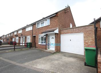 Thumbnail 3 bedroom end terrace house to rent in Churchill Road, Langley, Slough