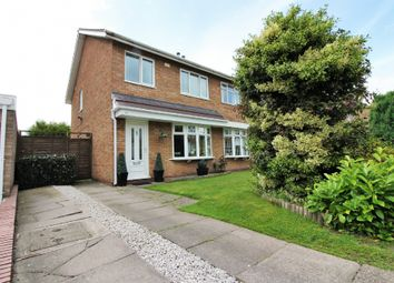 Thumbnail 3 bed semi-detached house for sale in Culmore Close, Willenhall