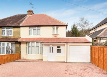 Thumbnail 3 bed semi-detached house to rent in Crescent Road, Caterham